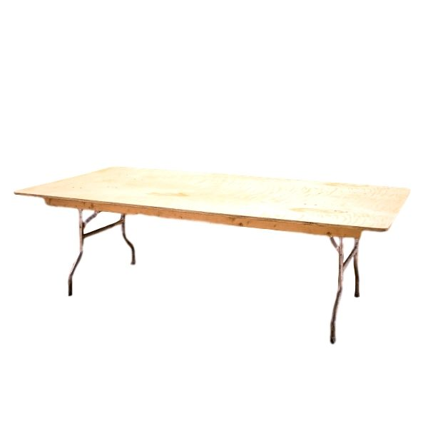 "8'x48"" Rectangle Table Rental"