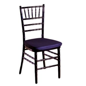 Black Chiavari Chair With Pad Rental