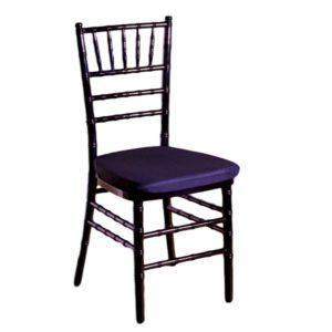 Black Chiavari Chair With Pad Rental