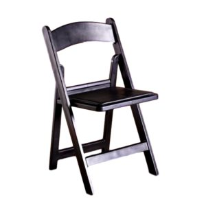 Black Garden Chair Rental