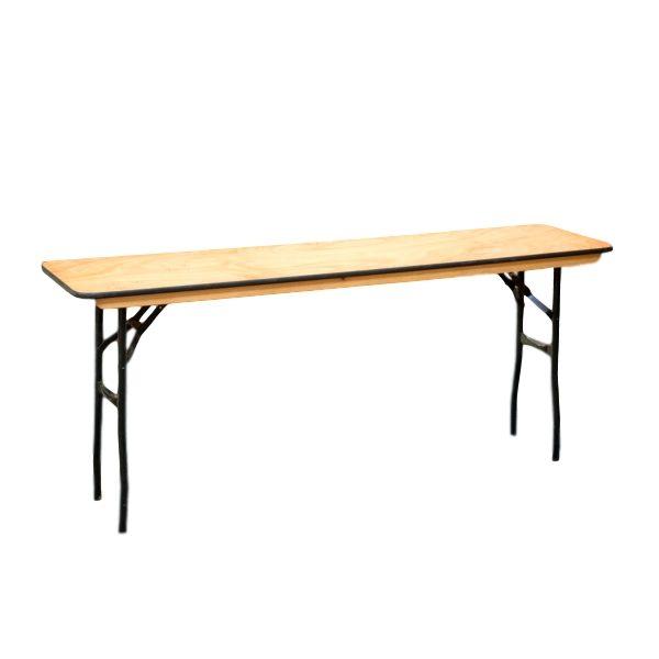 "Classroom 6' x 18"" Table Rental"