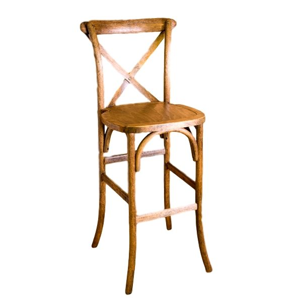 Cross Back Barstool Rental