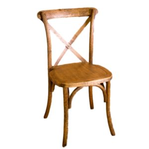 Cross Back Chair Rental