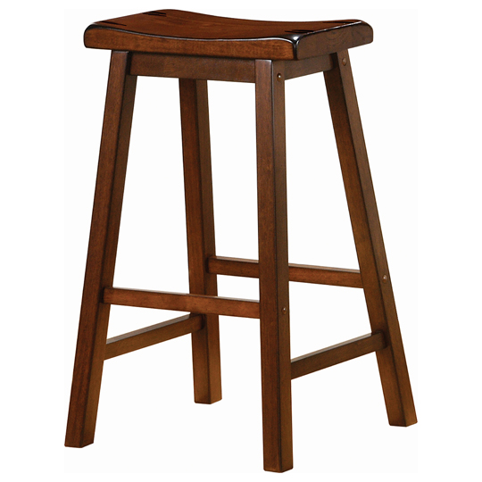 Fruitwood-Saddle-Stool