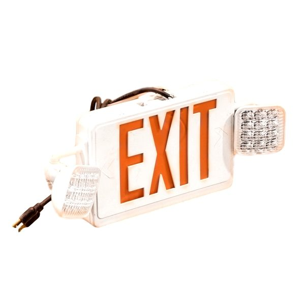 Illuminated Exit Sign With Lights Rental