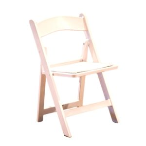 Kids White Garden Chair Rental