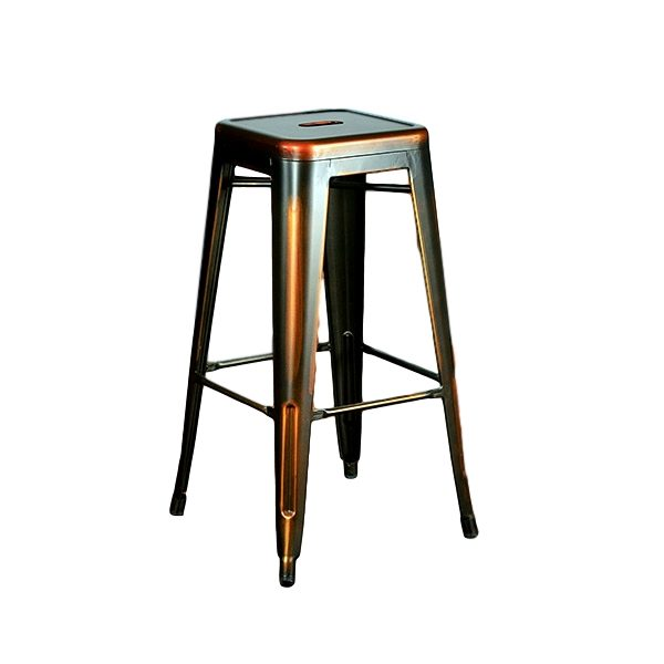 Distressed Copper Barstool Rental