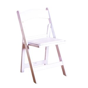 White Garden Chair Rental