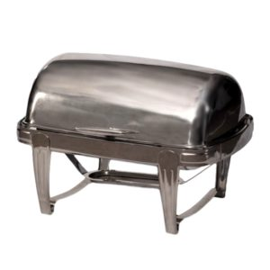 Chafing Dish Roll Top 8 qt Rental