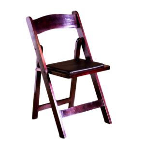 Mahogony Garden Chair Rental