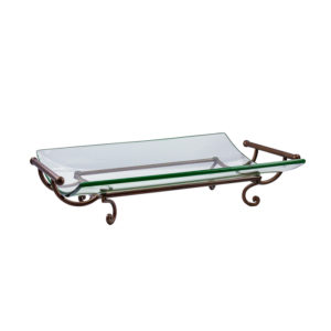 Venice Flared Tray Rental