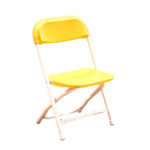 Kids Yellow Folding Chair Rental