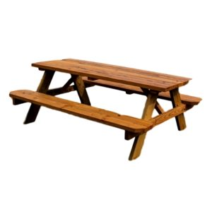 Picnic Table 6′ Rental