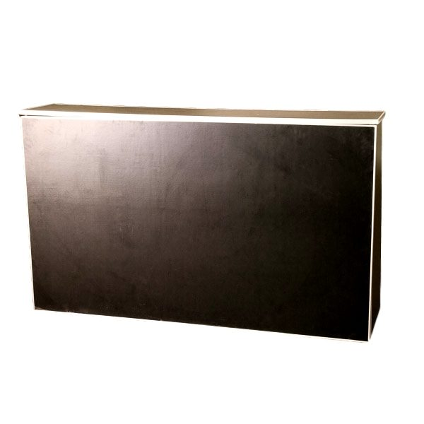 6′ Portable Black Bar