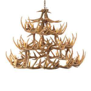 Antler Chandelier 3 Tier