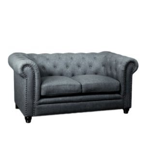 LOUNGE-TRIVELLATO LOVESEAT GREY