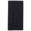 Napkin Black Hemstitch