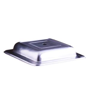 Stainless Steel Plate Cover 10″ Square Rental