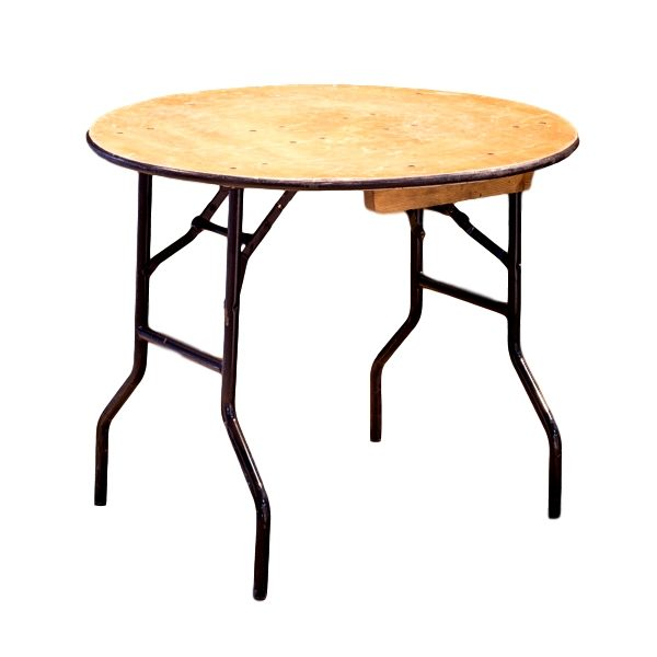 36″ Round Table Rental
