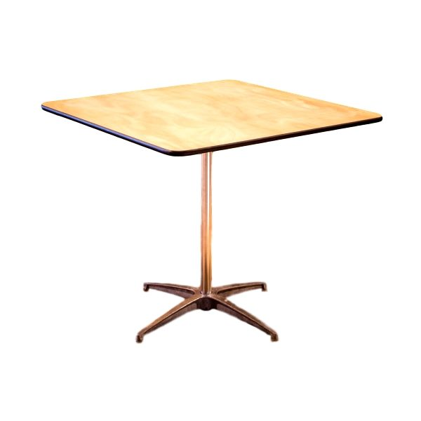 36″X36″ Square Bistro Table Rental