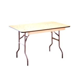 4'x30″ Rectangle Table Rental