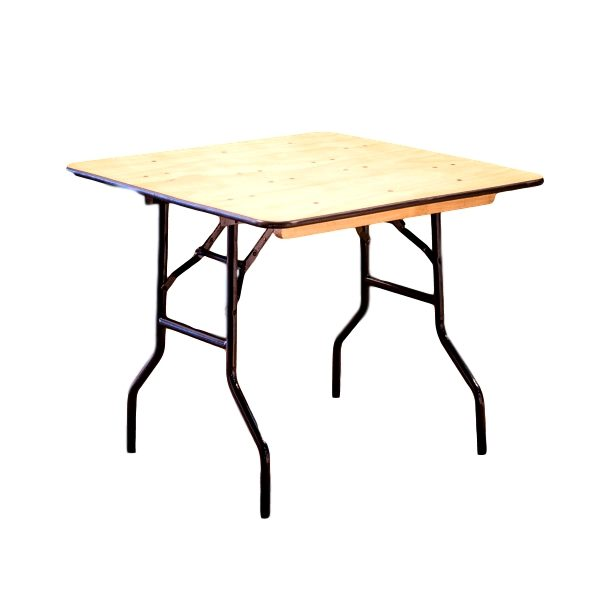 48″x48″ Square Table Rental