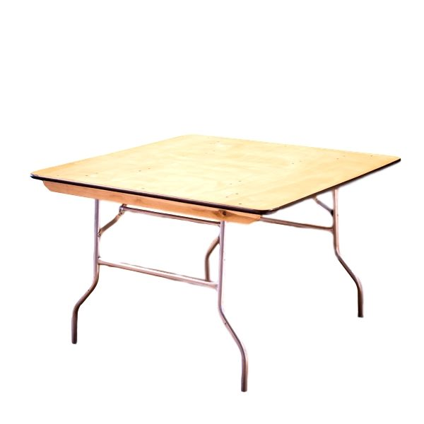 60″x60″ Square Table Rental