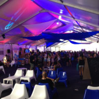 Structure Tent Rentals with Lighting