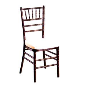Fruitwood Chiavari Chair With Pad Rental