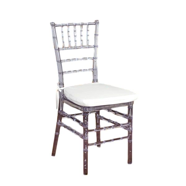Ice Chiavari Chair With Pad Rental