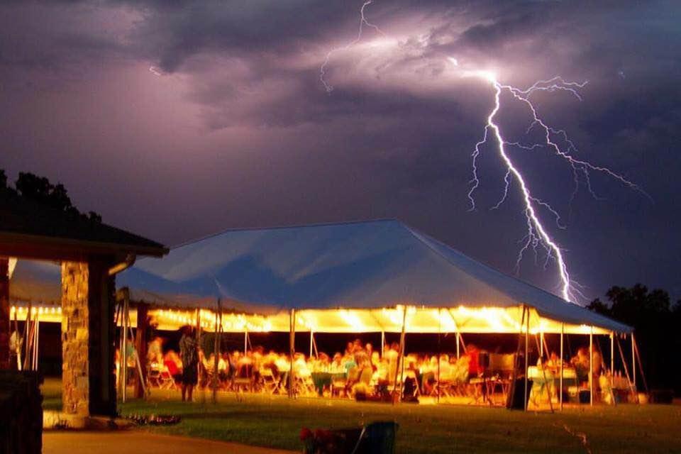 Tent Rental Lighting