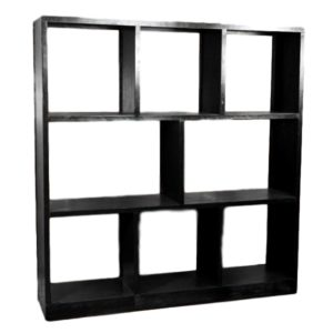 Back Bar Shelf Black