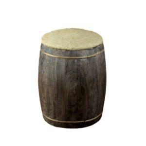 Burlap Drum