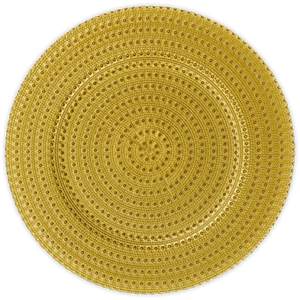 Oro Charger Glass Oro 13