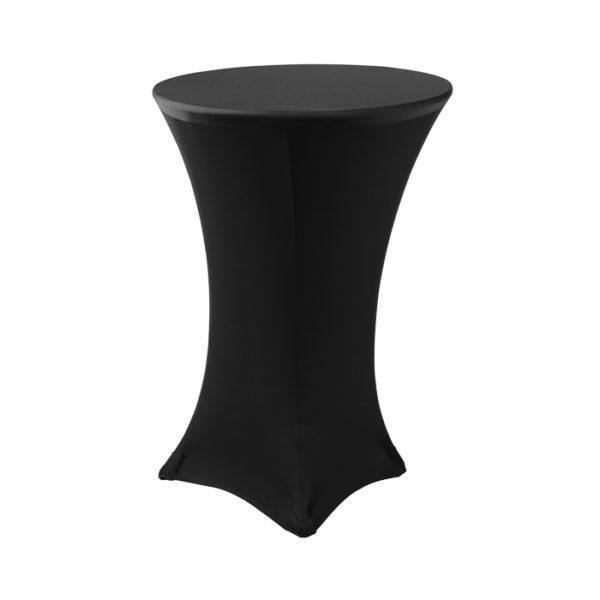 Black Spandex Linen