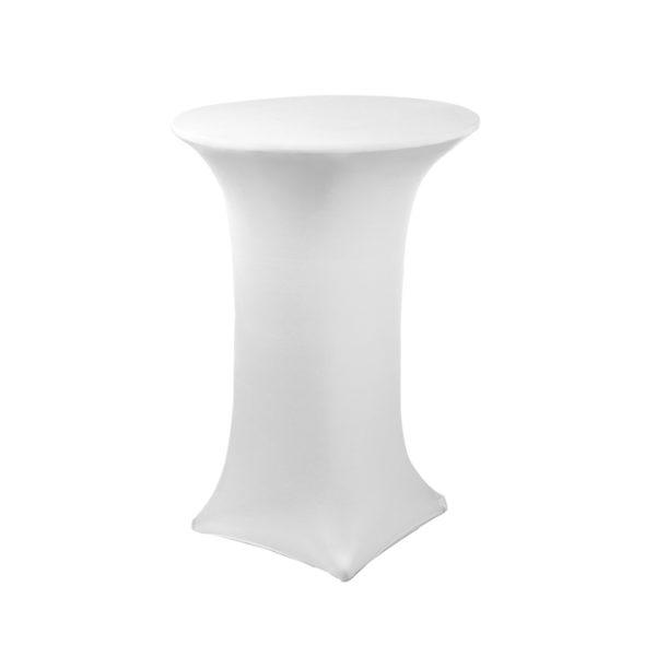 White Spandex Linen