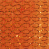 Orange Sequin Square