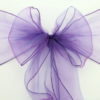 Purple Organza SASH