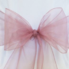 Dusty Rose Organza Sash
