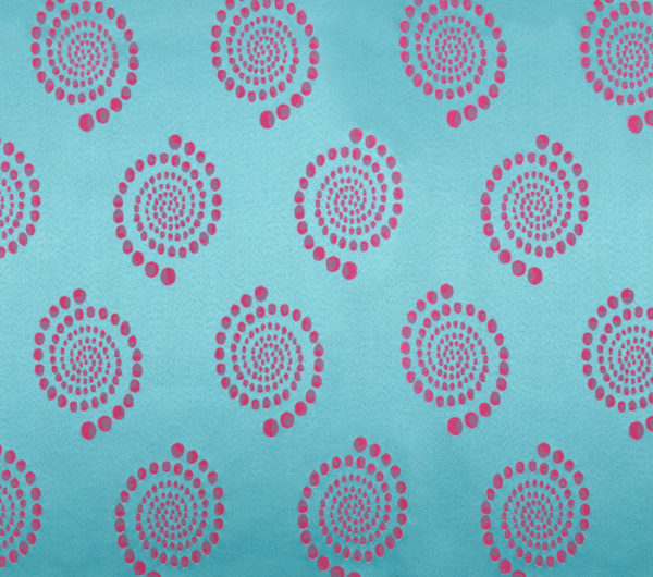 Turquoise Pink Kaleidoscope