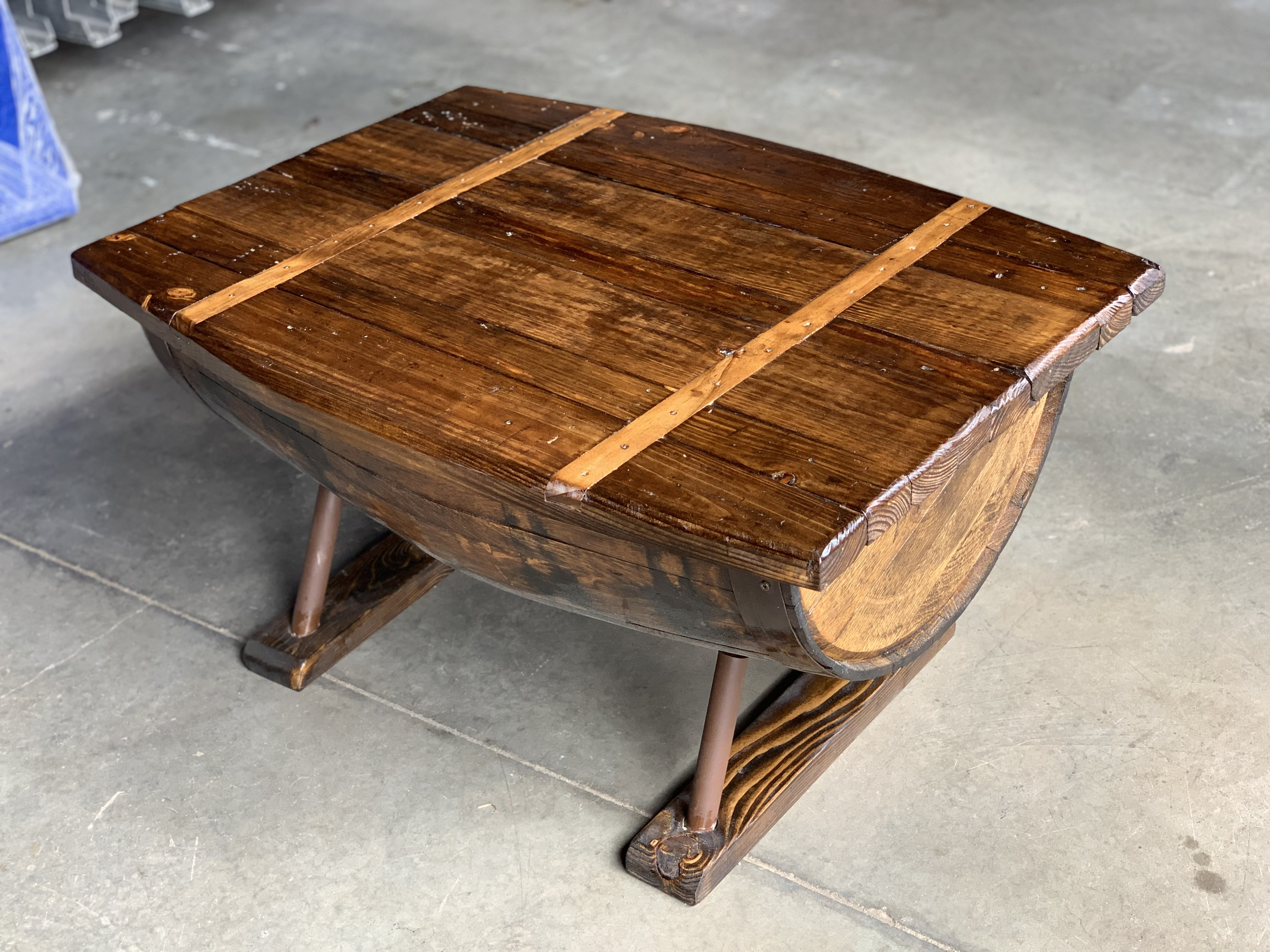 Amazing Whiskey Barrel Coffee Table Download Free Architecture Designs Scobabritishbridgeorg