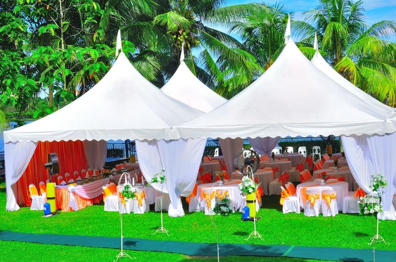 Wedding Frame Tent Garden Party Outdoor Reception