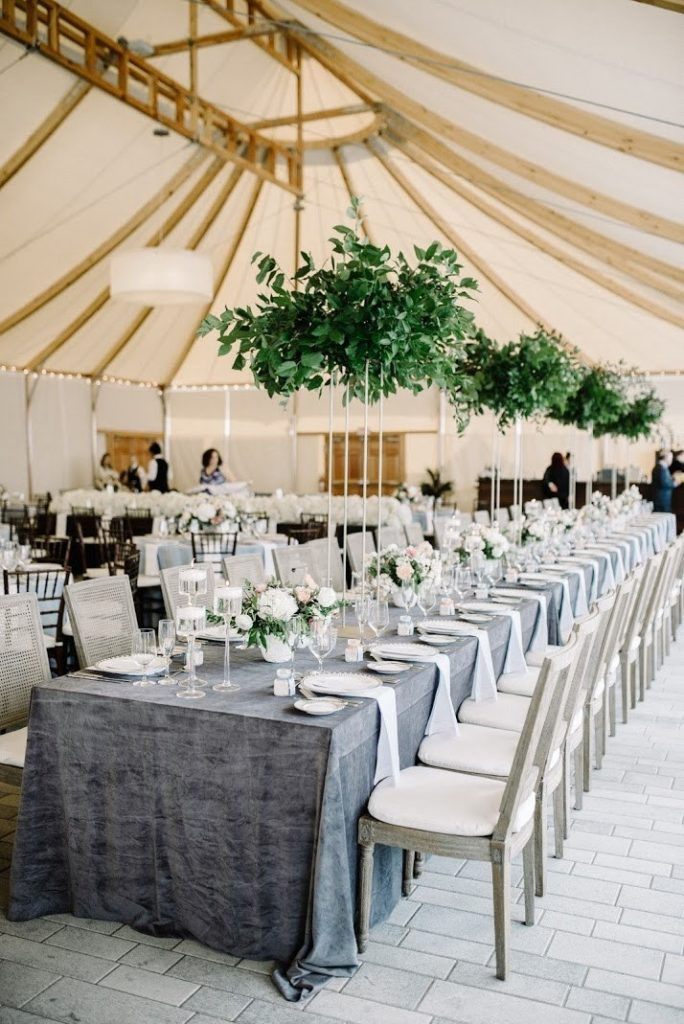 Wedding Structure Tent Rustic Design Ideas by Elizabeth LaDuca
