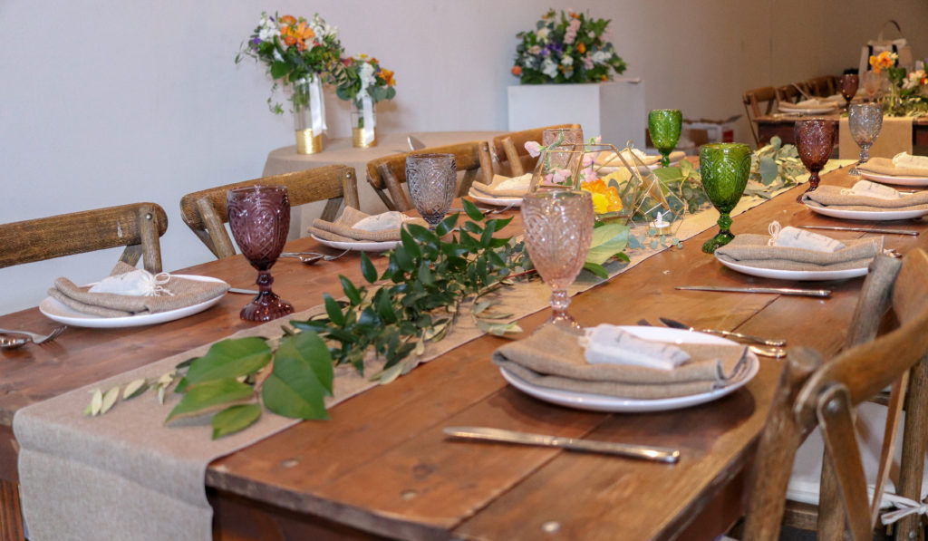 Wedding Tablescape Inspiration Rustic Hobo Chic