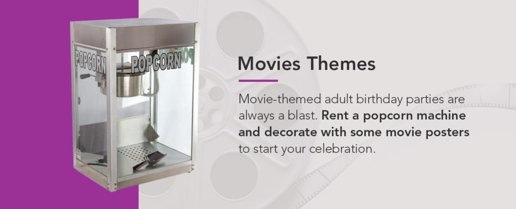 Movie Themed Idea for Birthday Party