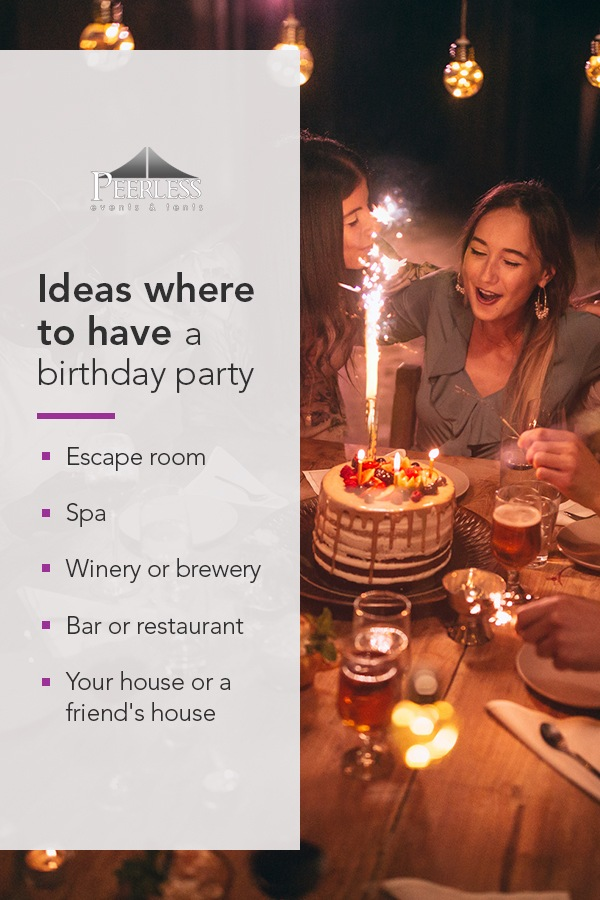 Where to Have a Birthday Party